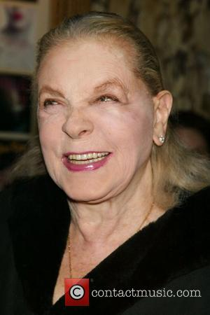 Lauren Bacall Opening Night of 'Sunday In the Park with George' at Studio 54 - Arrivals New York City, USA...