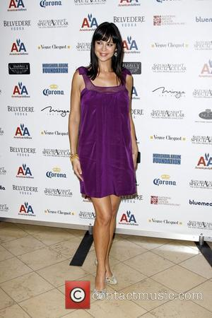 Catherine Bell Arrives at the Super Bowl XLII Saturday Night Spectacular held at the Galloria Corporate Centre  Scottsdale, Arizona...