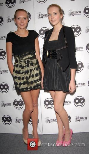 Samantha Marchant and Amanda Marchant London Fashion Week Autumn/Winter 2008 - SuperSuper Magazine Show London, England - 11.02.08