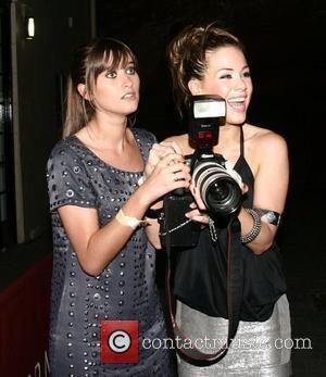 Charley Webb, Roxanne Mckee leaving the Superna Bar Leeds, England - 01.09.07