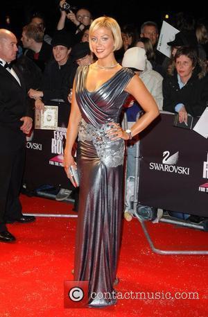 Liz Fuller Swarovski Fashion Rocks held at the Royal Albert Hall - Arrivals London, England - 18.10.07
