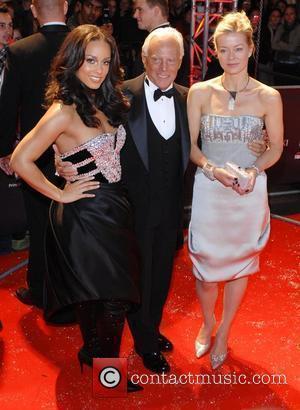 Alicia Keys, Giorgio Armani and Lady Helen Taylor