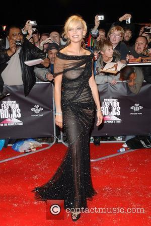 Uma Thurman Swarovski Fashion Rocks at the Royal Albert Hall - Arrivals London, England - 18.10.07