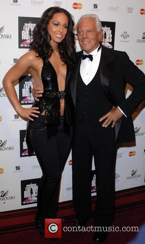 Alicia Keys and Giorgio Armani
