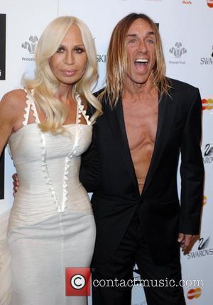Donatella Versace and Iggy Pop Swarovski Fashion Rocks held at the Royal Albert Hall - Press Room London, England -...