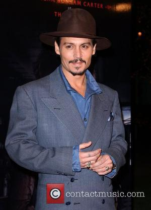 Depp Meets Literary Hero