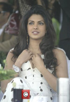 Bollywood actor Priyanka Chopra  Tag Heuer Polo match New Delhi, India - 02.12.07