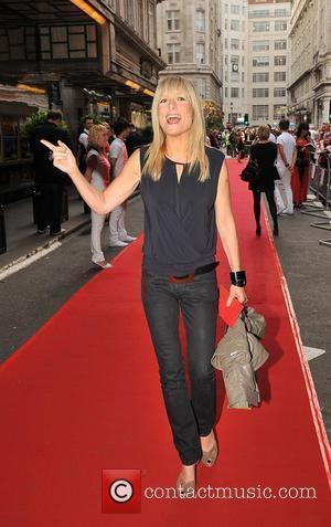 Gaby Roslin and Take That