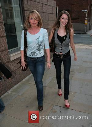 Rebecca Atkinson and Rebecca Ryan Opening night of 'Take That - The Musical' at the Opera House Manchester, England -...