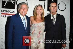 Tony Bennett, Susan Crow and Versace