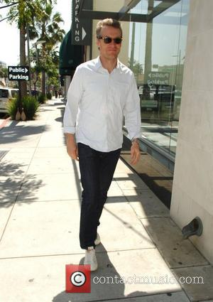 Tate Donovan goes shopping at The North Face in Beverly Hills Los Angeles, California - 31.03.08