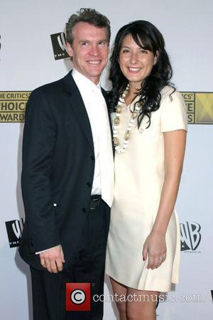 TATE DONOVAN and CORINNE KINGSBURY arrive at the Critics Choice Awards held at the Santa Monica Civic Center Los Angeles,...