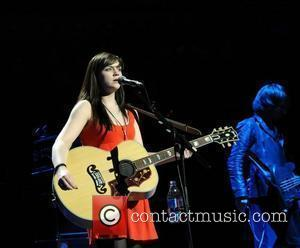 Amy McDonald performing at TCT - The Teenage Cancer Trust concert at The Royal Albert Hall London, England - 13.04.08