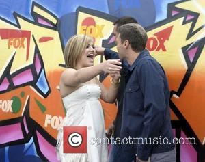 Kelly Clarkson and Ryan Seacrest