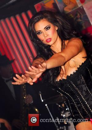 Tera Patrick  performs a burlesque show at Ivan Kane's Forty Deuce nightclub at Mandalay Bay Hotel & Casino...