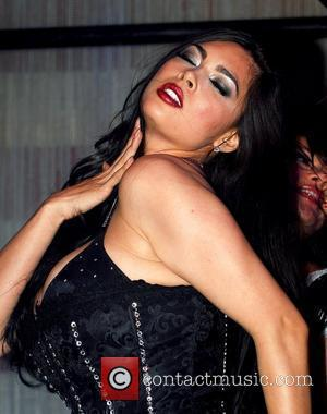 Tera Patrick  performs with the world-famous burlesque dancers of Ivan Kane's Forty Deuce nightclub inside Mandalay Bay Hotel &...