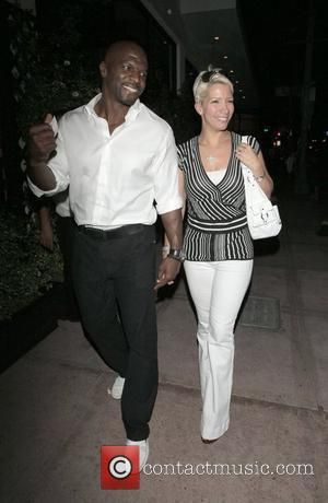 Terry Crews and his wife Rebecca Crews leaving Beso restaurant Los Angeles, California - 21.05.08