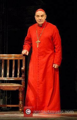 David Suchet as Cardinal Giovanni Benelli  The Last Confession - photocall at Theatre Royal Haymarket  London, England -...
