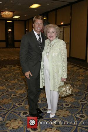 Bradley Bell and Betty White