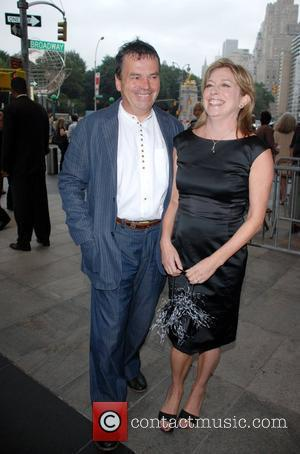 Neil Jordan and Guest attends the premiere of The Brave One at the Time Warner Cinema New York City, USA...