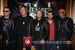 Ian Astbury, Billy Duffy, John Tempesta, Mike Dimkitch and Chris Wyse