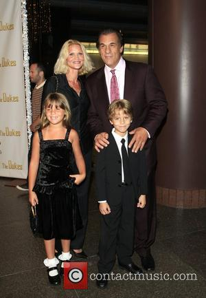 Robert Davi and family The Los Angeles film premiere of 'The Dukes' held at the DGA Theatre in West Hollywood...