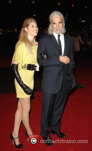 Sam Elliott with daughter Chloe World Premiere of 'The Golden Compass' at Odeon Leicester Square - Arrivals London, England -...