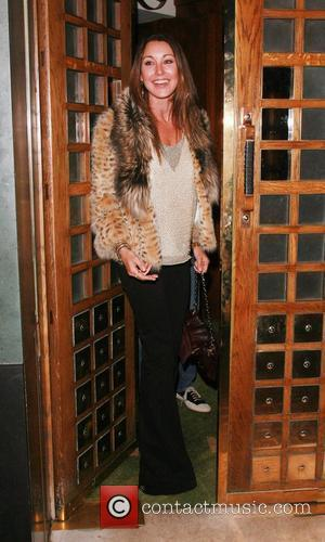 Tamara Mellon leaving The Ivy restaurant London, England - 19.01.08
