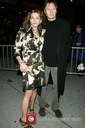 Natasha Richardson & Liam Neeson Opening Night of 'The Seafarer' at The Booth Theatre - Arrivals New York City, USA...