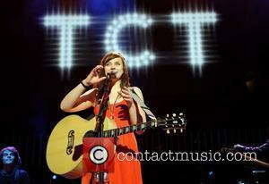 Amy Macdonald performing at TCT - The Teenage Cancer Trust concert at The Royal Albert Hall London, England - 13.04.08