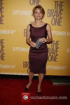 Jodie Foster New York Premiere of 'The Brave One' at the Rose Theater in Time Warner Center - Arrivals New...