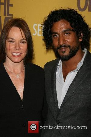 Barbara Hershey, Naveen Andrews New York Premiere of 'The Brave One' at the Rose Theater in Time Warner Center -...
