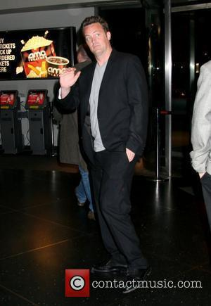 Matthew Perry New York Premiere of 'Then She Found Me' at AMC Lincoln Square Theater - departures New York City,...