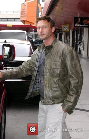 Thomas Kretschmann arriving at Tegel Airport. The German Hollywood actor will star in the movie