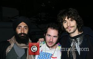 Waris Ahluwalia, Mark The Cobra Snake Hunter and guest Mercedes-Benz Fashion Week Fall 2008 - Three as Four - held...