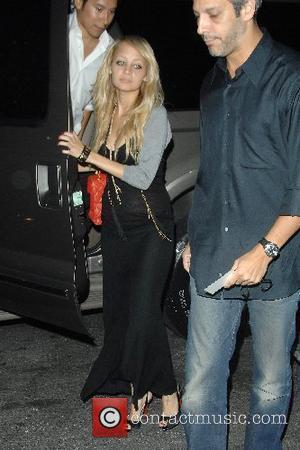 Nicole Richie and Justin Timberlake