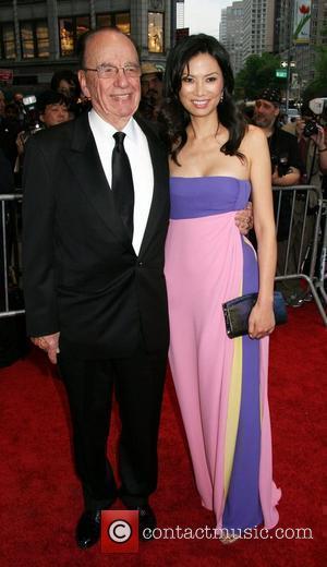 Rupert Murdoch and His Wife Wendi Deng