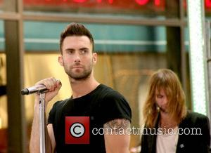 Maroon 5 performs Live on NBC's The Today Show Toyota Concert Series New York City, USA - 17.08.07
