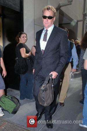 John C. McGinley leaving Rockefeller Plaza after appearing on NBC's 'The Today Show' New York City, USA - 29.08.07