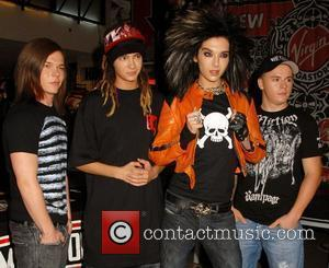 Tokio Hotel  at an album signing at Virgin Megastore in Times Square New York City, USA - 06.05.08