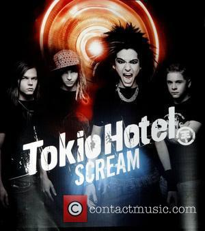 Tokio Hotel album that was signed by the band at Virgin Megastore in Times Square New York City, USA -...