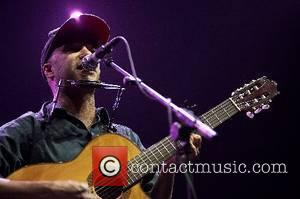 Tom Morello aka The Nightwatchman, guitarist of 'Rage Against the Machine' and Audioslave performing live at Pavilhao Atlantico Lisbon, Portugal...