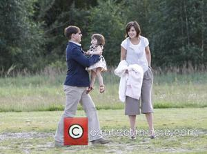 Suri Makes First Public Outing