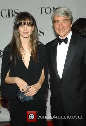 Sam Waterson and his daughter Katherine Waterson 2007 Tony Awards held at Radio City Music Hall - Arrivals New York...