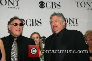 Judd Hirsch and Harvey Fierstein 2007 Tony Awards held  at Radio City Music Hall - Arrivals New York City,...
