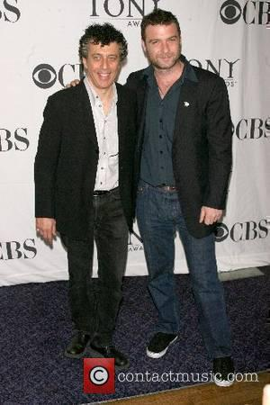 Eric Bogosian and Liev Schreiber Press reception for the 2007 Tony Awards nominees at the Marriott Marquis New York City,...