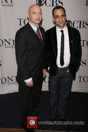Michael Cerveris and David Pittu Press reception for the 2007 Tony Awards nominees at the Marriott Marquis New York City,...