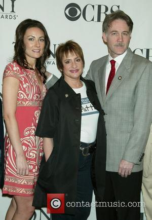 Laura Benanti, Patti LuPone and Boyd Gaines TONY Awards Meet The Nominees Reception at The Hilton Hotel - Arrivals New...