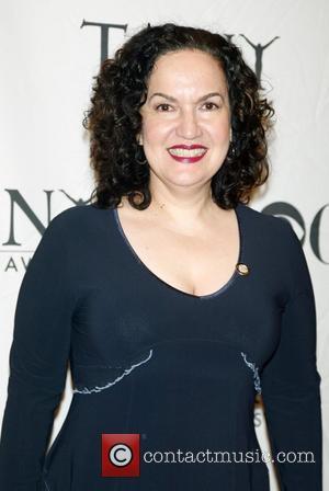 Olga Merediz TONY Awards Meet The Nominees Reception at The Hilton Hotel - Arrivals New York City, USA - 14.05.08