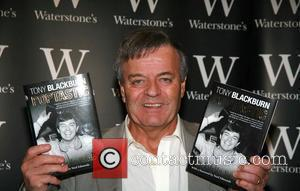 Tony Blackburn signing copies of his new book 'Poptastic' at Waterstones Bluewater, Kent - 02.10.07